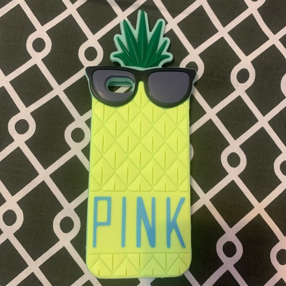 iPhone 6s/6s+   PINK Pineapple Phone-case.